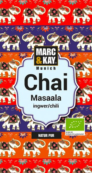 Marc & Kay Bio Chai Masaala - Tassenportion - 25g auf naturelei.de